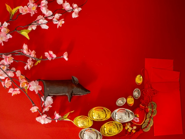 Chinese new year decorations.