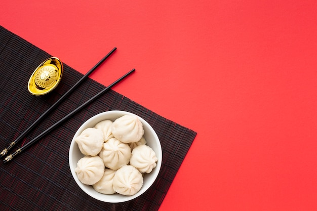 Китайский новый год пельмени