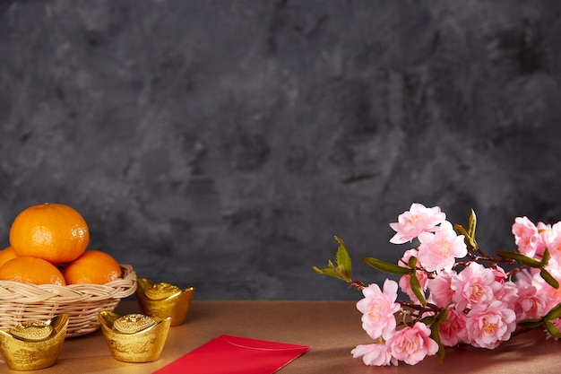 Chinese new year festival celebration