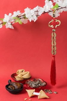 포춘 쿠키와 함께 중국 새 해