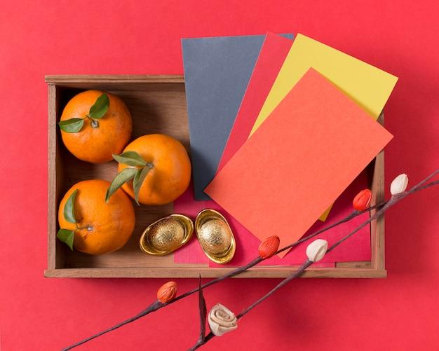 Capodanno cinese con mandarini