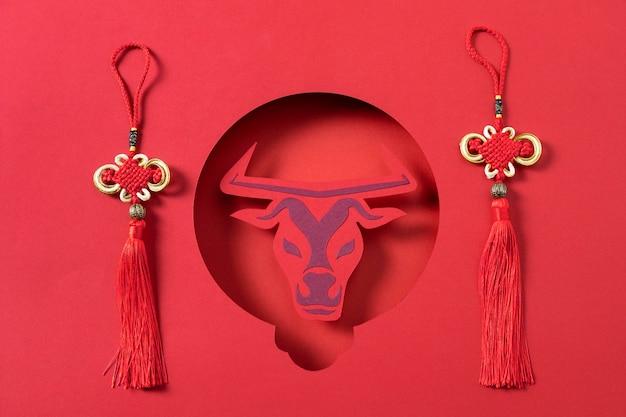 牛の概念を持つ中国の旧正月