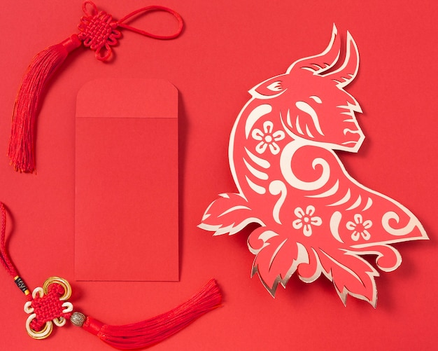 황소 개념 중국 새 해