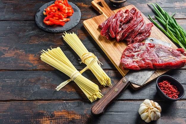 野菜と中華麺