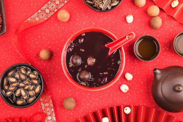 Китайская северная кухня, каша лаба, каша восемь сокровищ
