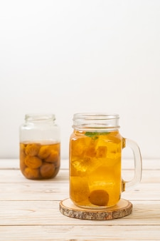 Chinese plum juice
