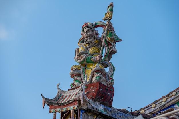 중국 종교 전통은 종교 건물을 장식합니다