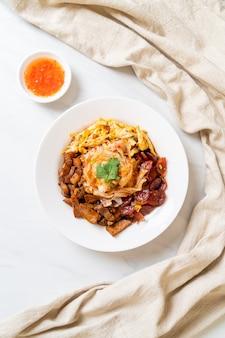 中華蒸し米麺-アジア料理スタイル