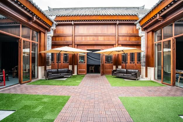 中華風木造住宅