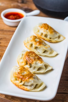Chinese traditional food dumpling