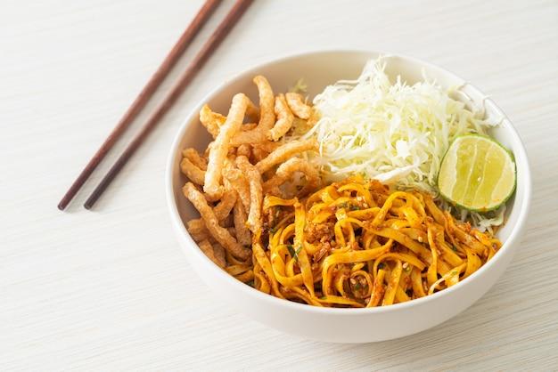 중국 운남 국수 또는 kwa meng - 아시아 음식 스타일