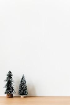 Деревья chirstmas с пространством проектного пространства