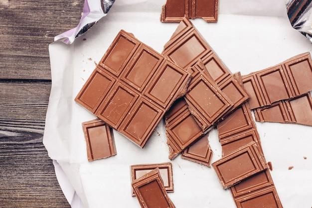 Шоколадная плитка настенная