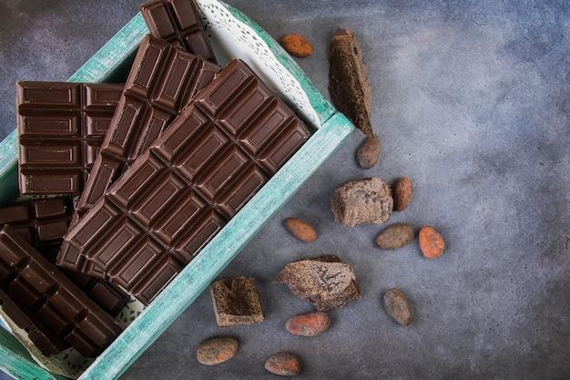 ビンテージボックスのチョコレートバー