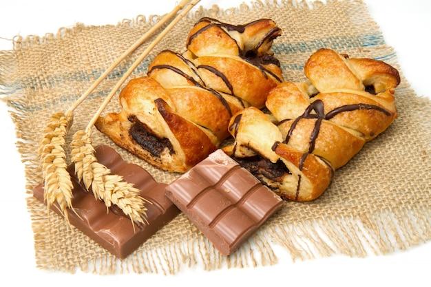 Шоколадная булочка
