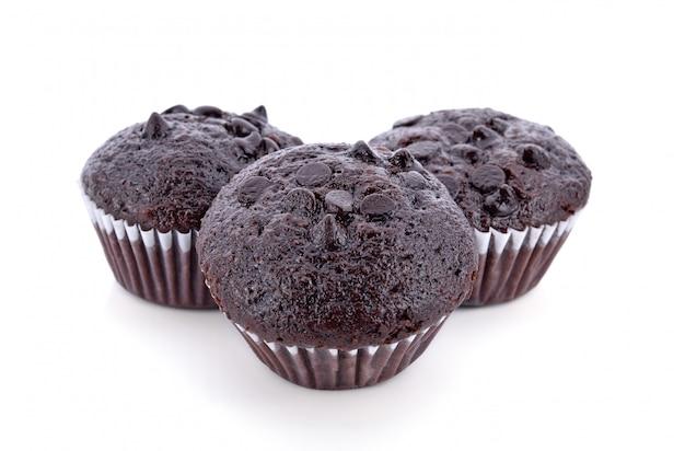 Chocolate cake muffin