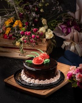 チョコレートケーキ甘いおいしいおやつおいしい