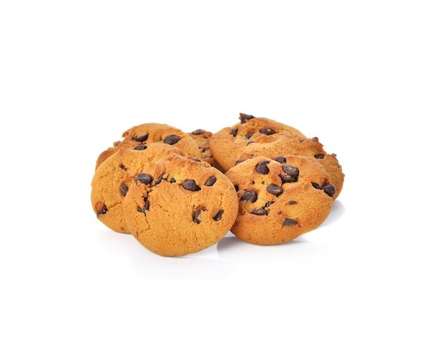 白のチョコレートチップクッキー