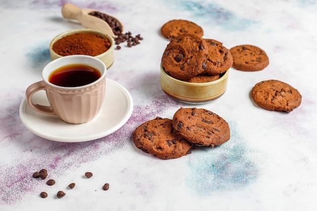 チョコレートチップグルテンフリークッキー。