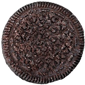 Шоколадное печенье, изолированные на белом фоне