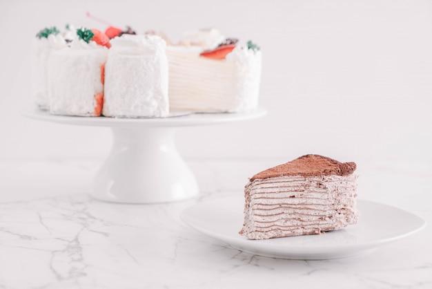 Chocolate crape cake