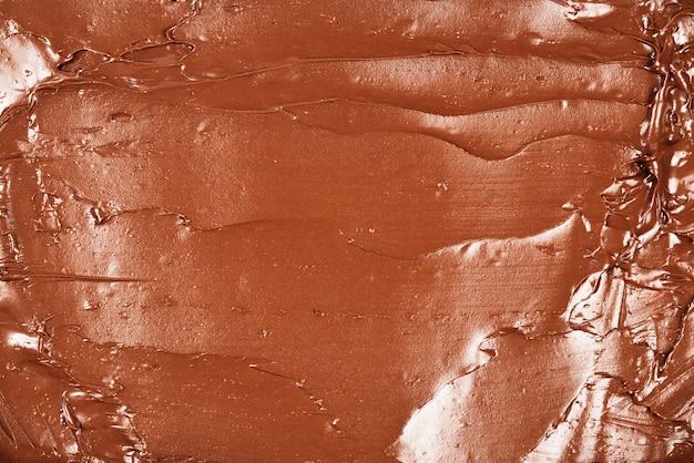 Шоколадный крем фон. пространство для текста или дизайна.