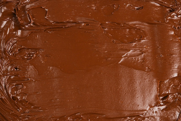 Chocolate cream background. space for text or design.
