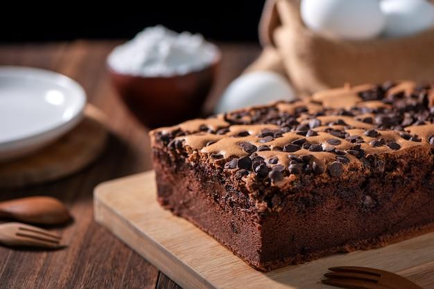 초콜릿 맛 대만 전통 스폰지 케이크