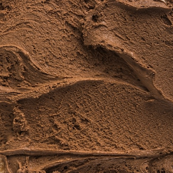 Chocolate ice cream background