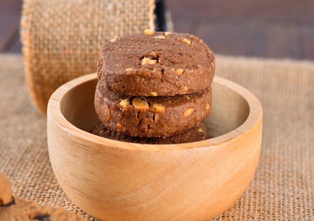 チョコレートピーナッツクッキー