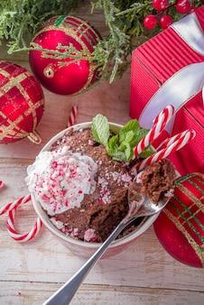 초콜릿 페퍼민트 머그 케이크