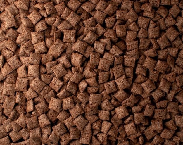 Шоколадные подушки фоновой текстуры