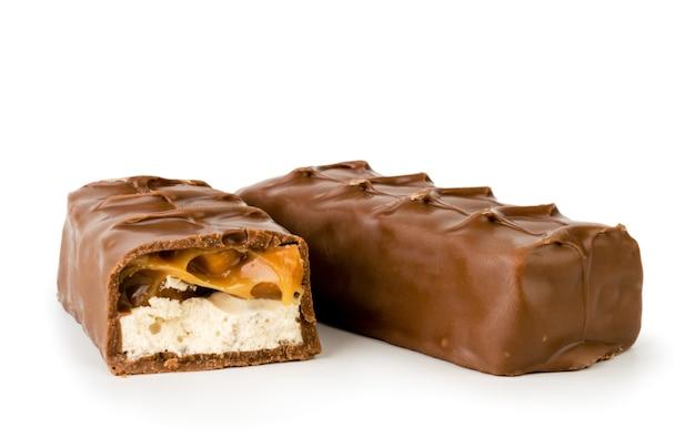 チョコレートスニッカーズと半分分離