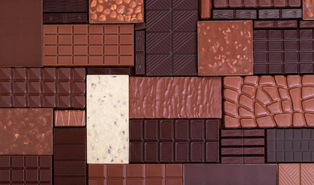 Шоколадная поверхность
