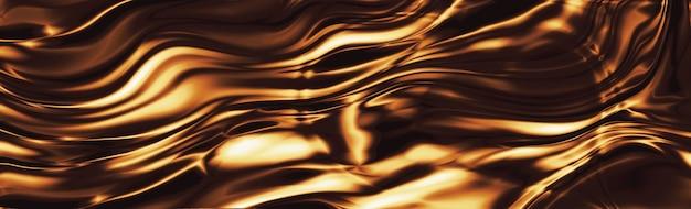 Шоколадная волна текстуры роскошный фон