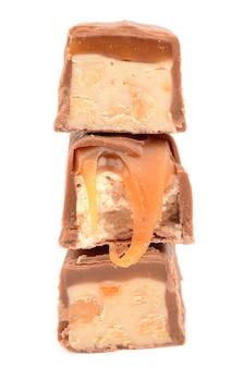 화이트에 카라멜 초콜릿