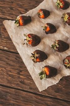 Chocolatecovered strawberries