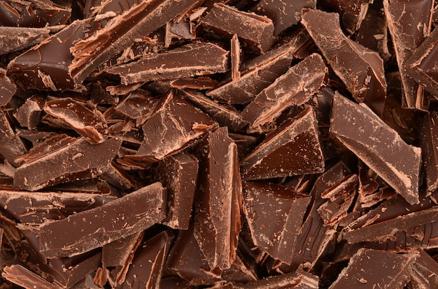 チョコレートのクローズアップ