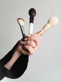 選択の異なる化粧ブラシ