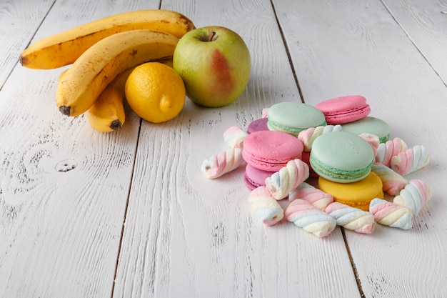 Choice fruits vs sweets