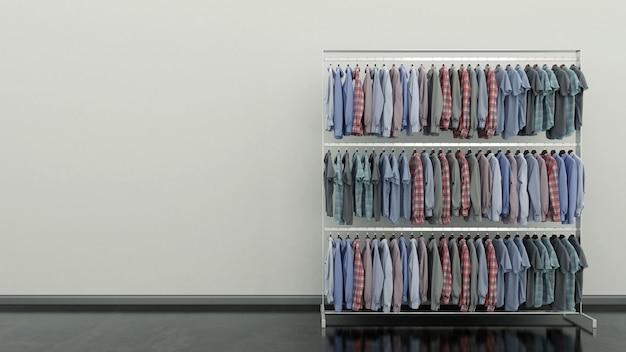 Выбор одежды разных цветов