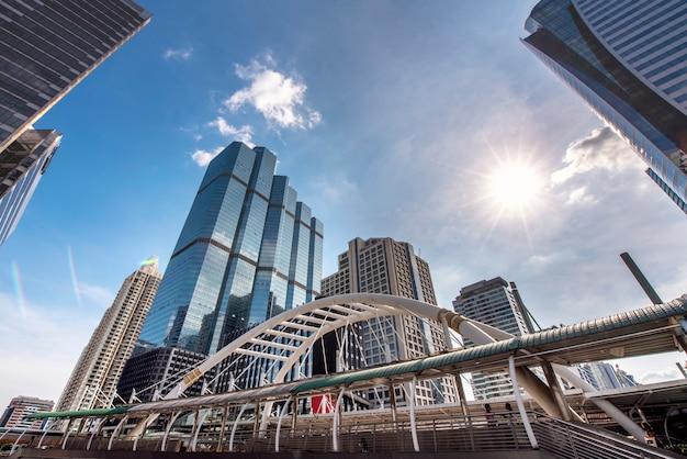 Chong nonsi bangkok skytrain station, city scape thailand