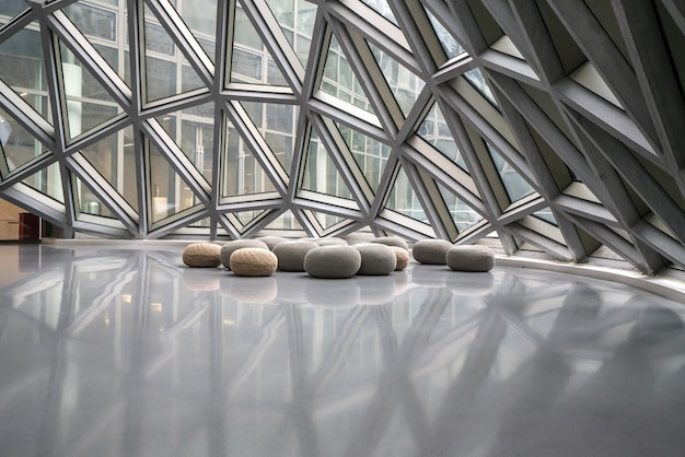 Chongqing, china - october 13, 2019: chongqing museum of contemporary art, china