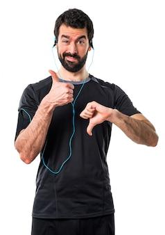 Choose hispanic sign race runner
