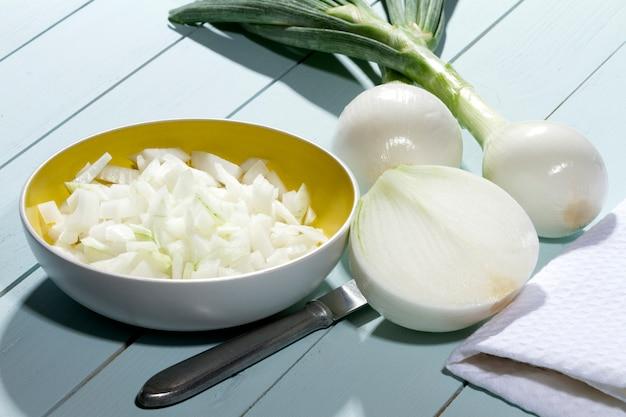 Choped onions