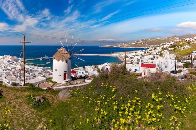 Хора на острове миконос, греция