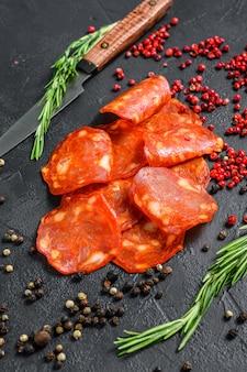 Chorizo sausage thin cut
