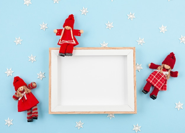 Chrismas and new year greeting card
