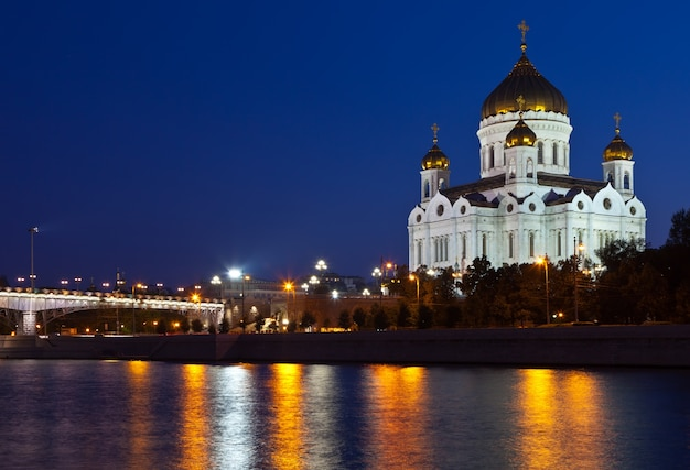 Christ the savior cathedral at moscow