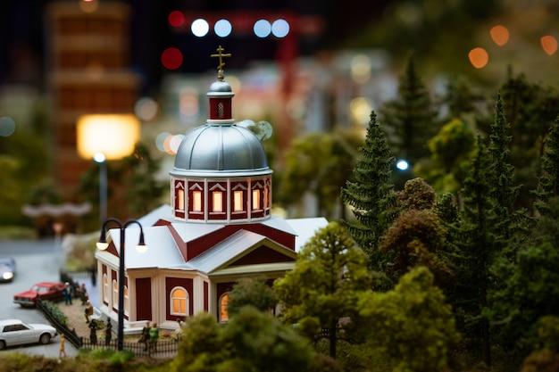미니어처의 기독교 사원